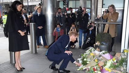 Christchurch Terror Attack: Prince Harry and Meghan Markle step out to pay their respects to victims