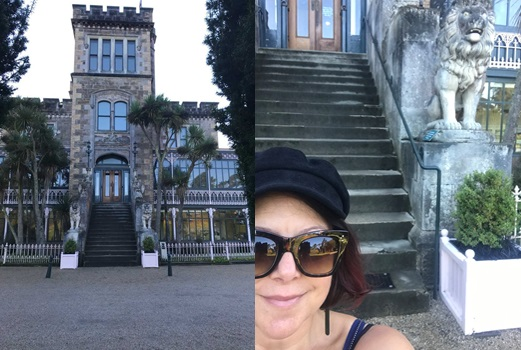 Got to stay at Larnach Castle. Amazing place to drive out to along the Peninsula. Beautiful castle and gardens