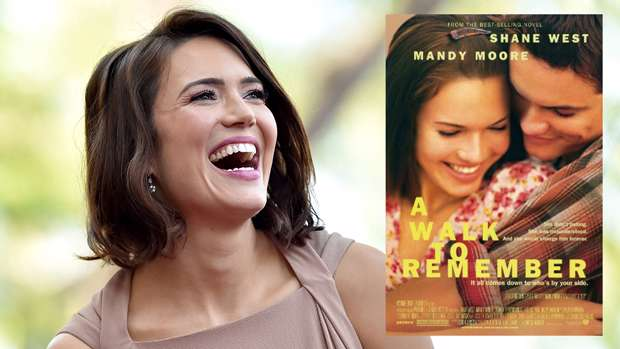 A Walk To Remember Reunion Mandy Moore S Then And Now Snap With