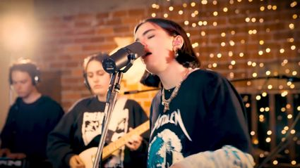 Watch Kiwi singer Bene perform her hit songs live in the Locals Only Lounge