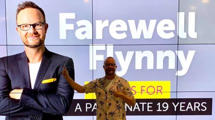 The Hits is saying farewell to Flynny!