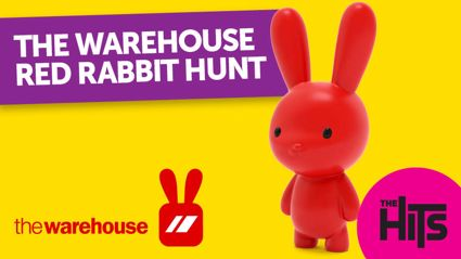 Join the Hits at the Warehouse for the Red Rabbit Hunt this Easter!