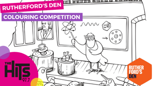 Rutherford's Den Colouring Competition