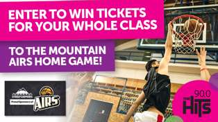 Win tickets to the basketball for your whole class!