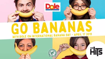 Check out how The Hits celebrated International Banana Day with Dole!