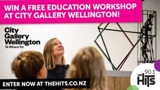 WIN a City Gallery Workshop!