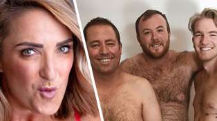 The Hits men recreated Brodie Kane's underwear snap and the result is absolutely brilliant!