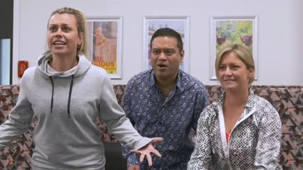 Toni Street and Laura McGoldrick take on The Chase's Paul 'The Sinnerman' Sinha in the Alpha Quiz!