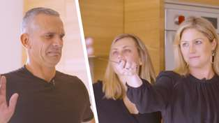 Kiwi celebrity chef Josh Emett shows Laura, Sam and Toni how to create a delicious dish