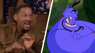 Watch Will Smith perform HIS version the song 'Friend Like Me' from Aladdin!