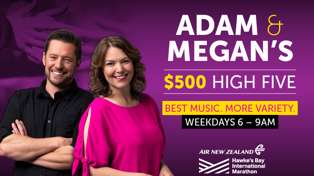 Adam & Megan's $500 High Five!