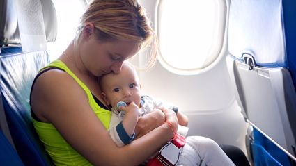 Mother's powerful message to flight passenger who complained about her toddler goes viral