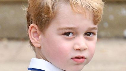 Prince George speaks in public for the FIRST TIME in new adorable family video