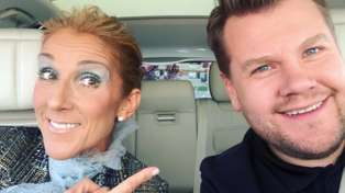Watch Celine Dion sing with James Corden in the NEW Carpool Karaoke - it is truly EPIC!