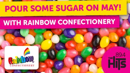 Pour some sugar on MAY with Rainbow Confectionery