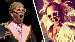 Elton John absolutely loves his R-rated sex scene in 'Rocketman' biopic: 'I'm proud'