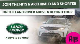 WIN a Land Rover Above and Beyond Tour Experience with Archibald and Shorter