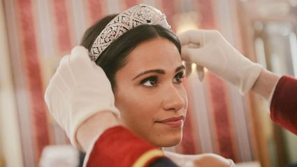This clip from new Harry and Meghan movie is SO DRAMATIC you can't help but laugh!
