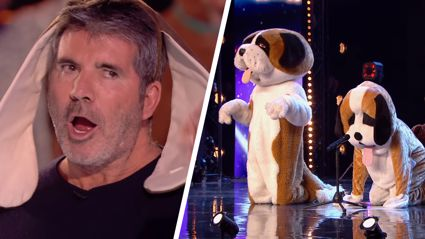 Watch the Britain's Got Talent judges get hilariously pranked by this INSANE audition