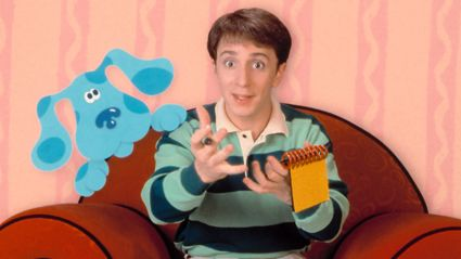 Remember 'Blue's Clues'? It's been rebooted and here is your first look at the NEW 'Steve'!