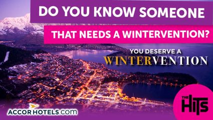 Win a Wintervention thanks to The Hits and Accorhotels.com!