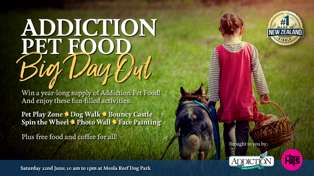 Win a year's supply of Addiction Pet Food
