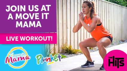 Join us for a Move it Mama LIVE workout! AKL, WLG, CHCH