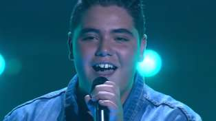 The Voice Australia contestant performs breathtaking cover of Pink's 'What About Us'