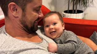 The embarrassing moment Sam Wallace's partner got caught 'out' after breastfeeding