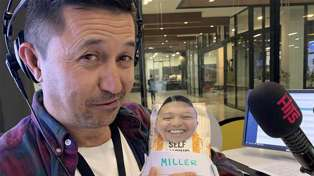 Mike Puru set for baby bootcamp with his very own 'flour baby' that looks just like him!