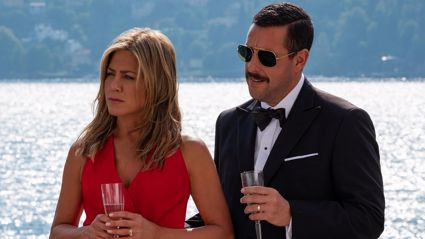 Jennifer Aniston's hilarious new Netflix comedy 'Murder Mystery' is out TONIGHT