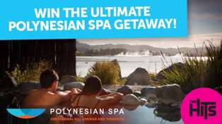 Win the ultimate Polynesian Spa getaway with The Hits!