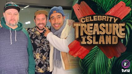 The Hits' Sam Wallace is heading to the all-new Celebrity Treasure Island!