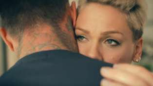 Pink just dropped her emotional music video for '90 Days' starring her husband Carey Hart