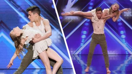 Amazing kid dancers wow America's Got Talent judges with their PHENOMENAL dance routine
