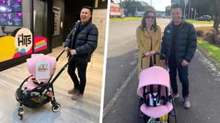 Pledge for Plunket: Watch Mike Puru's epic 13k pram-a-thon for Plunket!