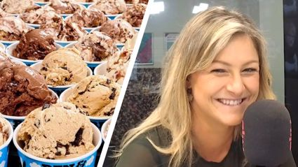 Toni Street dropped $600 to buy a year's supply of ice cream!