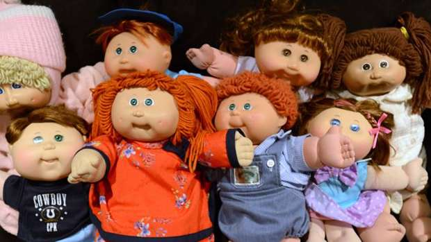 It seems your old Cabbage Patch dolls could now be worth a