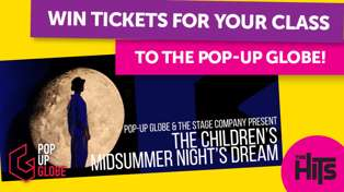 Win tickets to Pop-up Globe!
