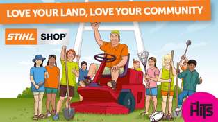 Love your Land, Love your Community with STIHL SHOP