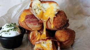 Mashed potato bacon bombs recipe
