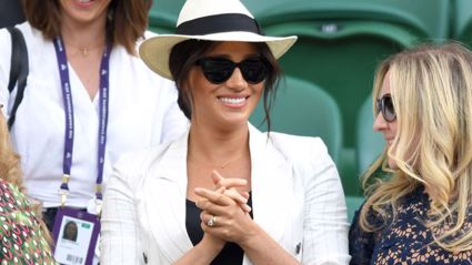 Meghan Markle shares adorable tribute to Archie during surprise appearance at Wimbledon