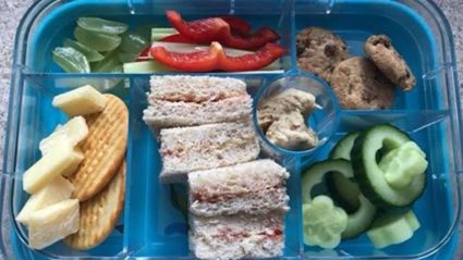 Mum left completely baffled after school sends home son's 'unhealthy' lunch box