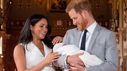 Prince Harry and Meghan Markle's official photos from Archie's christening are simply stunning