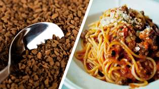 Apparently adding coffee to mince is the trick for making the best nachos and spaghetti bolognese