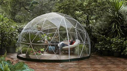 You can now buy a Garden Igloo for your backyard and they are so cute