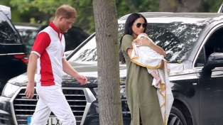 Royals spotted together on family outing in first public appearance for baby Archie