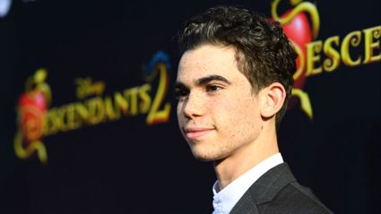 Cameron Boyce's father shares final photo taken before his son's sudden death