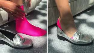 ASOS unveil clever 'invisible' sock 'fashion hack' that we definitely want to try