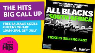 WIN Tickets to see the All Blacks v South Africa!